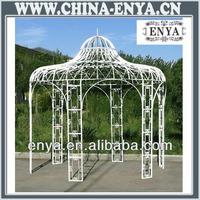 Outdoor metal gazebo parts/outdoor gazebo with metal roof