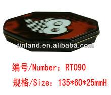 black compass tin box