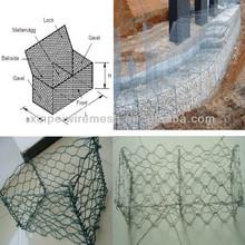 High Quality Low Price Gabion Mesh/Gabion wall construction