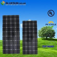 aluminium frame 100w poly solar panel back film