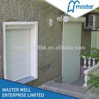 Metal roll up windows / roller shutter