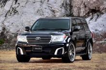 For 2014 Toyota LAND CRUISER WALD-INTERNATIONAL BLACK BISON BODY KIT