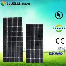 TUV certificate mono 18v 100 watt mono pv solar panel