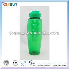 BPA free PET water bottle with flip lid