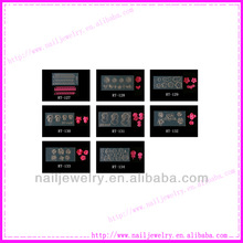 Chinese Wholesale 3D Acrylic Nail Art Mold DIY Design Different Fashion Styles