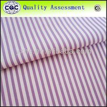 China cvc yarn dyed fabric poplin
