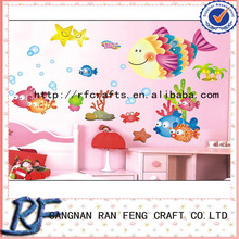3D Cartoon Decorative & Pvc Free Removable Wall Sticker Ocean Sticker