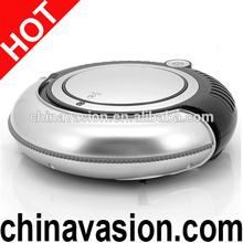 Robotic Vacuum Cleaner with LED Light, Multiple Modes, Cliff Avoidance Sensor (Black)