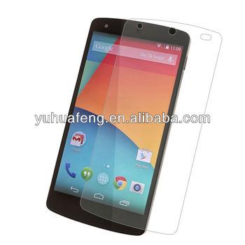 Tempered glass screen cover for LG Nexus 5 screen guard screen protector Nexus 5