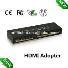 4kx2k 8 way 1x8 HDMI splitter to coaxial with full 3D 4PET0108