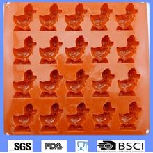 animal shape handmade silicone soap mold Christmas silicone soap molds