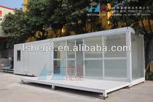prefab glass house
