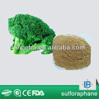 LGB factory supply 1%,10%,50%,98% sulforaphane powder broccoli seeds extract