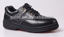Heat resistant steel toe cap men work safety shoes