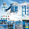 hot machine hydraulic press price concrete block machine
