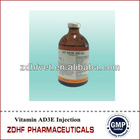 vitamin AD3E injection veterinary medicines for horse cattle