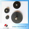 Neo Rubber Pot Magnet, Rubber coated magnets,neodymium pot magnet,custom rubber magnets
