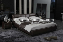 A9030 leather full bed, king beds on sale, furniture for bedroom