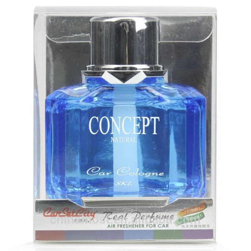 CarSetCity Concept Natural Perfume Ocean Fresh Blue Car Freshener