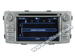 WITSON car radio for TOYOTA HILUX 2012 A8 Chipset Dual Chipset,3G modem / wifi/ DVR (Option)