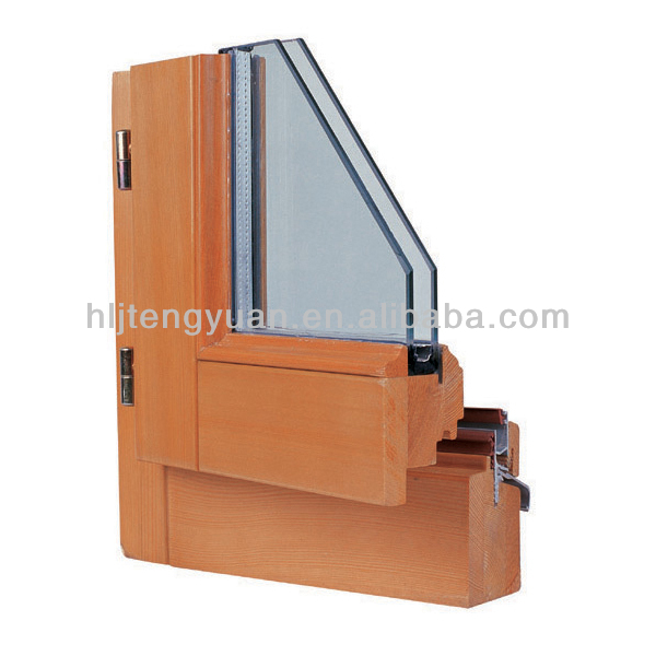 european style solid wood cheap house windows for sale