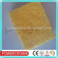 Soft glass wool board hot sale for fireplace insulation