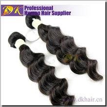 Grade 5A virgin human hair real one donor microlink hair extension