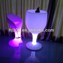 led round wine tables