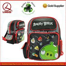 "Rovio All Birds Shooting Pig 16"" Cheap Backpack School Bag for Kid"