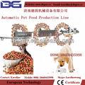 automático de alimentos para perros mascotas animales extrusora de alimentos de la máquina de producción