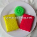 Bola de plástico coloridos para limpeza da cozinha