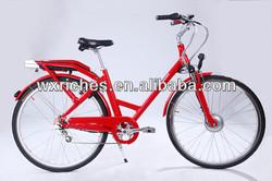 New model leisure lady electric bicycle smart battery (Model LEB700U)