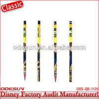 Disney factory audit manufacturer's red color pencil bulk 143103