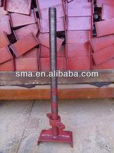 การก่อสร้างนั่งร้านu- headแจ็ค( โรงงานจริงในกว่างโจว, จีน)