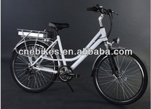 26'' lady city 48v 1000w electric bike CNE26XL004 with EN15194 certificate