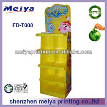 Alta qualidade dobrável brinquedo papelão / papel ondulado kids brinquedo / boneca / boneco de pelúcia para promoção da loja