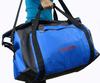 Blue PVC waterproof duffle bag