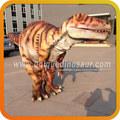 de caucho de silicona dinosaurio dinosaurios traje traje de los animales