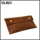 Top quality vintage leather wallet handmade leather coin purses