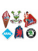 CB-A1184 paper car air freshener/ocean scent paper car air freshener for promotional gifts