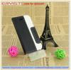2014 black color cellphone case accessory PU leather phone case