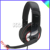 Plastic head belt with steel inside durable,colorful cute design headphones (USB-608)