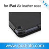 New products! Hard shell with PU leather case for ipad air tablet PC