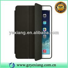 Latest Smart Case 3 Fold Flip Leather Case For Ipad Air -Black