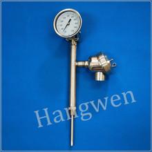 RTD bimetal thermometer