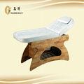 lettino per massaggi in legno lettino da massaggio termale riscaldata comodino fornitore