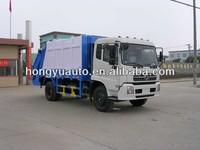 4X2 Dongfeng 4600kgs Cummins 180HP garbage/rubbish compactor truck