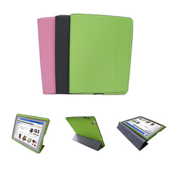 A-grade PU Leather case for ipad 2 3, sublimation Leather case for ipad 2 3