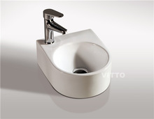 VITTO small size ceramic wall hung basin