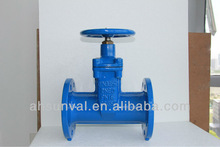 din 3352 f5 resilient seated stem gate valve (non-rising)